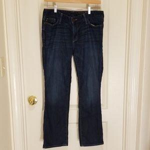 Eddie Bauer MODERN fit slim straight jeans 12S